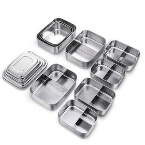 Environmental protection advanced Stainless steel Boutique food container
