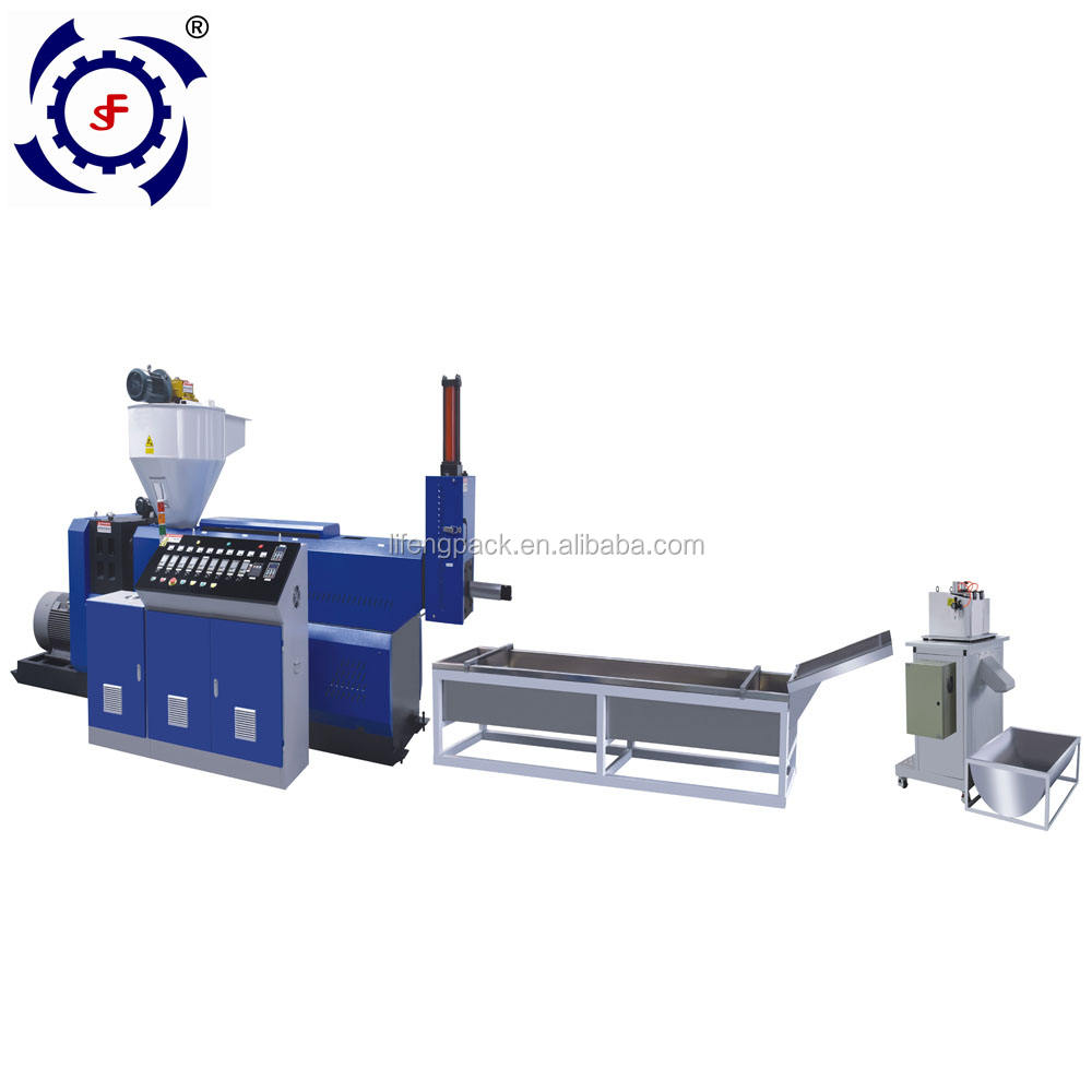 ZL-C One Screw PP PE ABS Die Face Cutting Waste Plastic Film Recycling Granulation Pelletizing Washing Lines Machine Price