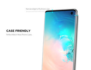 3 in 1 3D 4D 5D Curved 9H hardness Tempered Glass Screen Protector For Samsung Galaxy S10/s10  /s10 Plus
