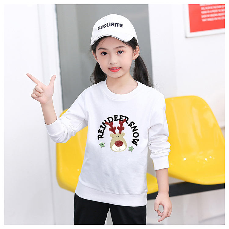 Large Size 90-150 CM Christmas Cotton Sweater Wholesale Factory Supplier Children Boy Girl Unisex Cartoon Xmas Gift Jumpers