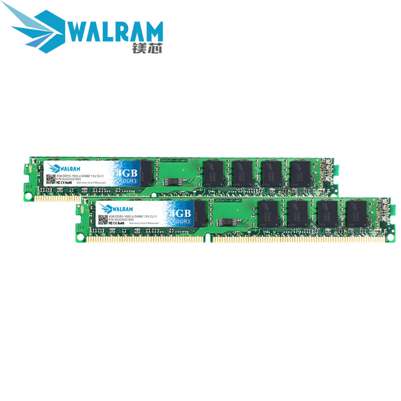 LONG DIMM Fully compatible For Desktop PC Ram 4GB DDR3 Memory Module 1333 1600MHZ
