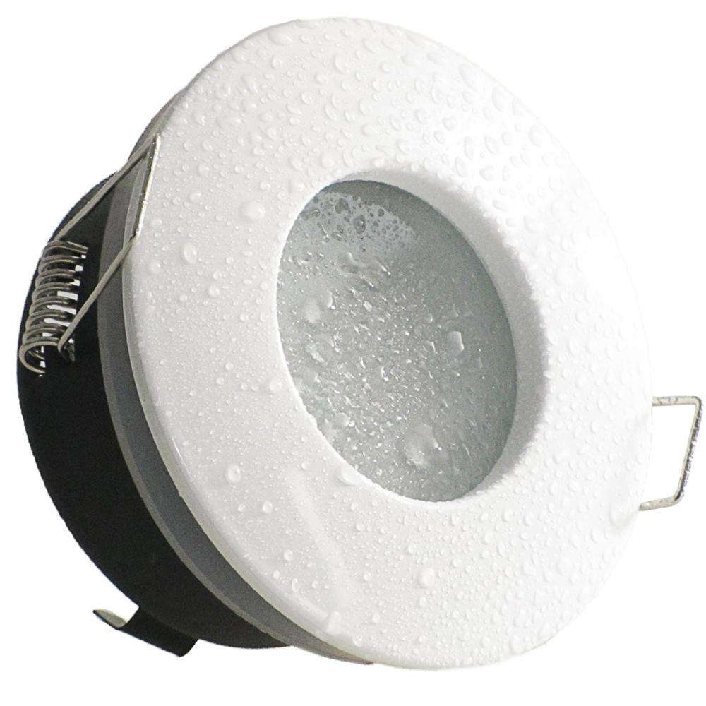 Indoor Recessed GU10 IP65 LED Spot Light Lamp Frame Fitting Waterproof Housing for MR16