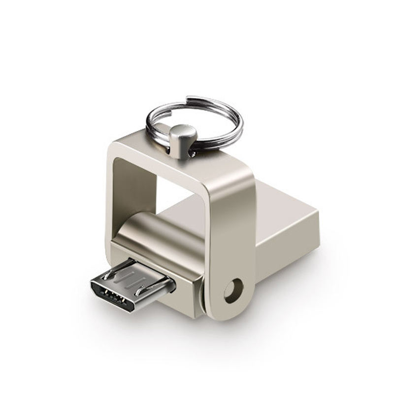 Hot Selling Multi Function 2 In 1 OTG Micro USB Flash Drive Customized Pendrive 2.0