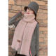 Long Cashmere Scarf Fashionable Woman Lady Printed Custom Long Multicolor Warm Wool Plaid Neck Scarf Winter