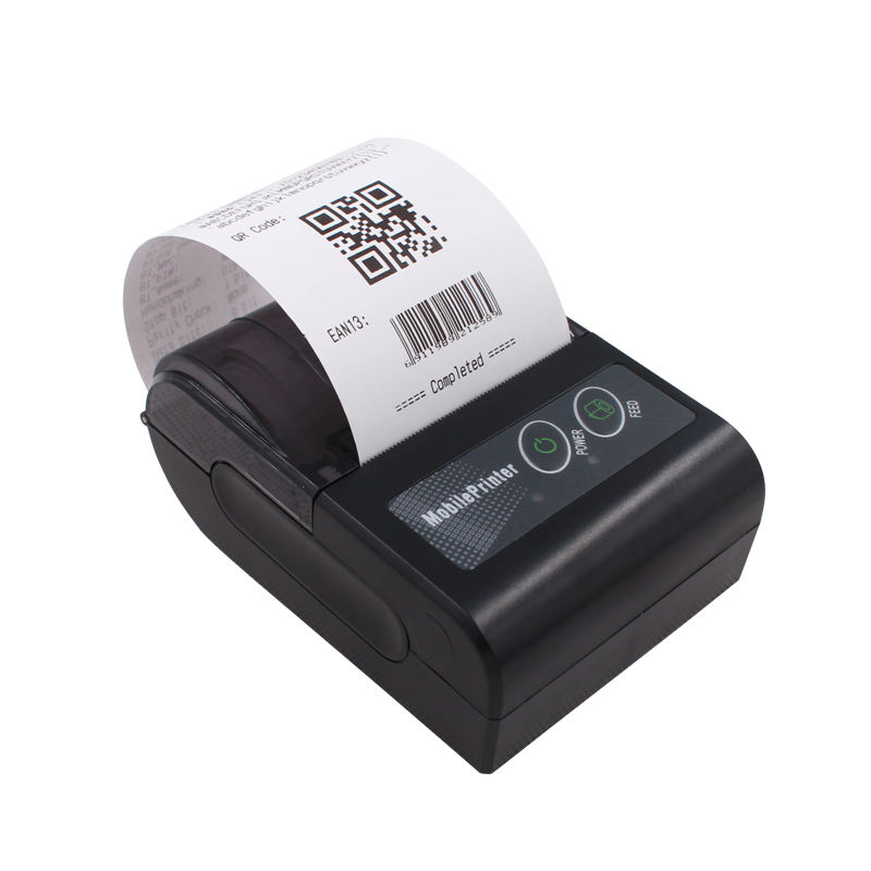 Asher New Arrival Portable Bluetooth Handheld 58mm Thermal Mini Recipet Printer