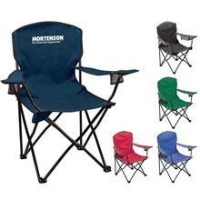 Lightweight outdoor portable metal folding beach camping chair wholesale factory foldable chairs With Cup Holder Backpack