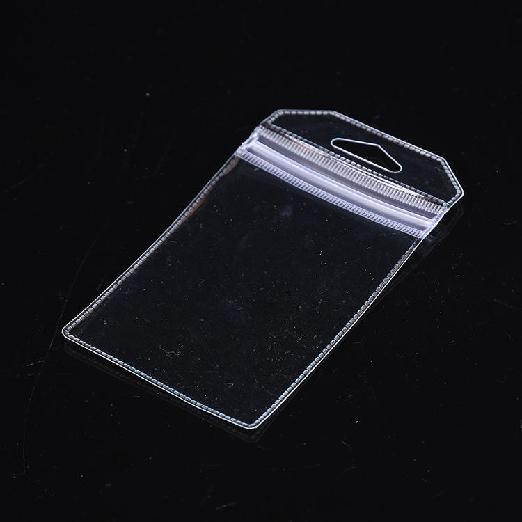 Wholesale Clear PVC Plastic Label Bag ID Photo Card Holder