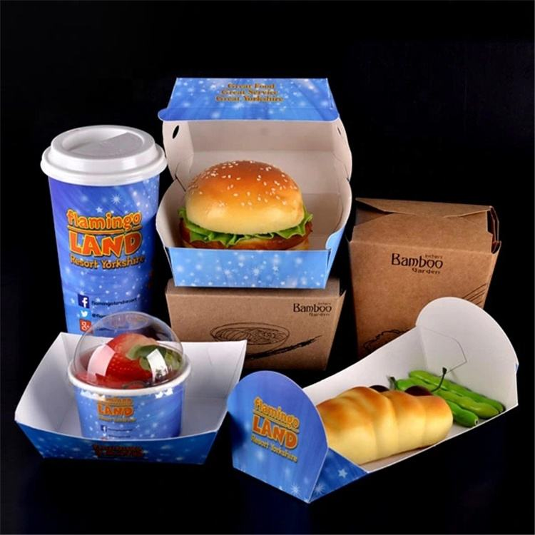 Take Away Fast Food Packaging Box for Restaurant