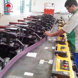 beam welding machine production line for semi-trailer