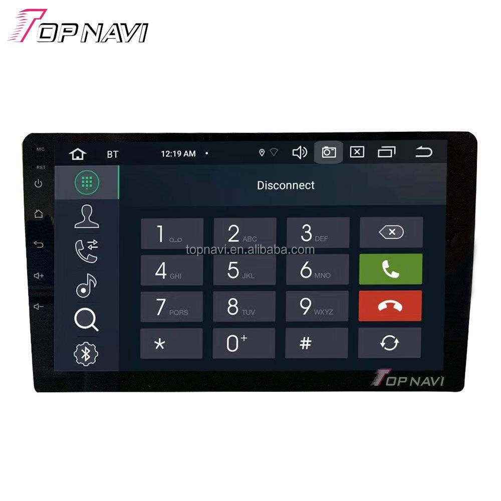 PX5 Android Head Unit 10 Inch Android 9 Universal Mobil GPS Navigasi Octa Core 4G 64G OEM Double din Mobil Dvd Player