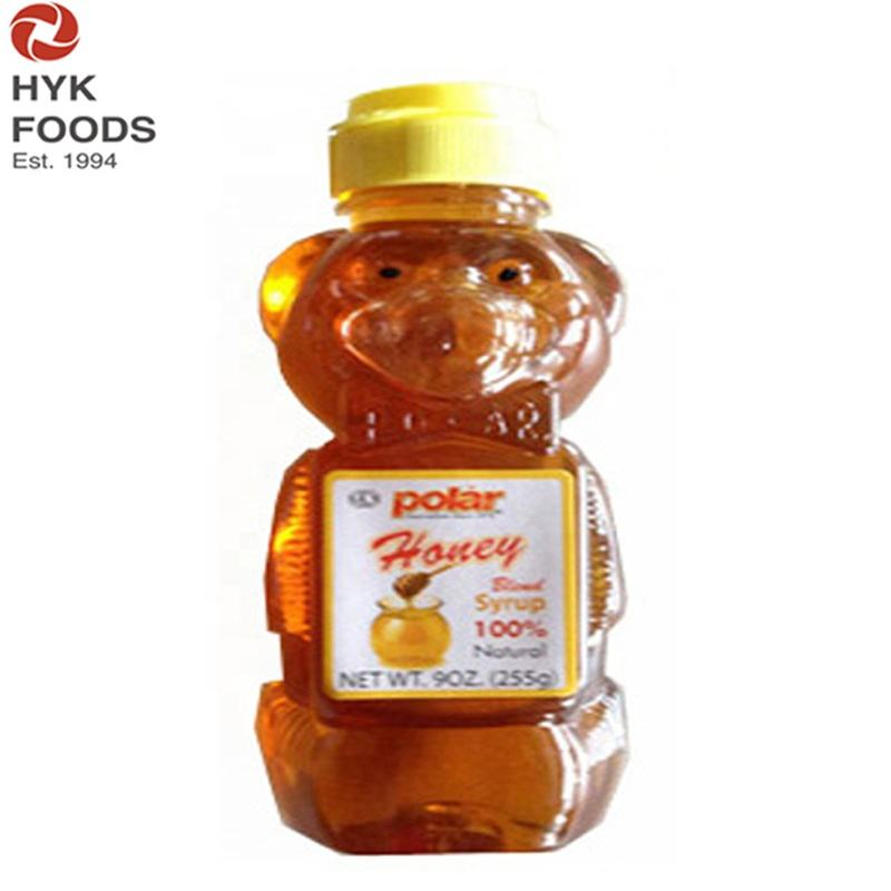 LOW PRICE PROMOTION bear bottle honey blend syrup with 45%honey