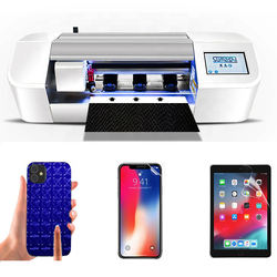 Cell phone anti shock screen protector cutting machines nano liquid screen protector making machine for mobile phone