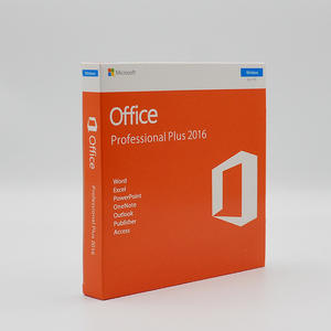 Globally Used DVD Version Microsoft Office 2016 Pro Plus Word Office 2016 Software Operating System