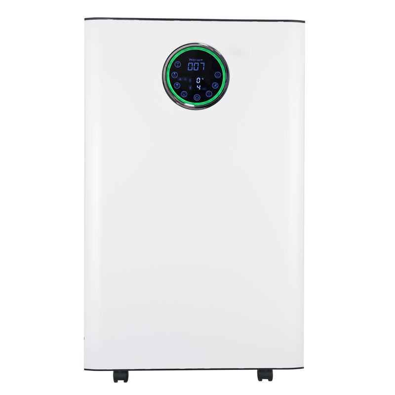 Uvc Ionizer Industri Bohlam <span class=keywords><strong>Uv</strong></span> Humidifier Combo Ultrasonik Ultra Tipis Benar Hepa <span class=keywords><strong>Filter</strong></span> Menara Wifi Smart Air Purifier