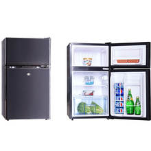 Home use 258L fridge upright refrigerator Double Door combined freezer and refrigerator