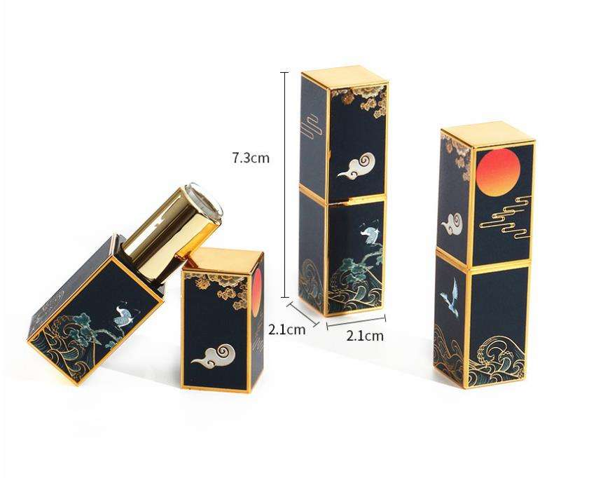 3D embossed magnet lipstick tube lipstick palace moon