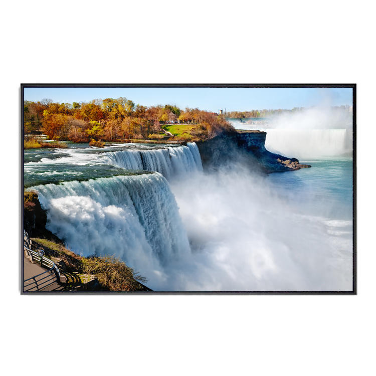 Custom Home Decor Artwork Pictures Poster Wall Art Beautiful Landscape Waterfall Nature Canvas Paintings For Living Room Wall