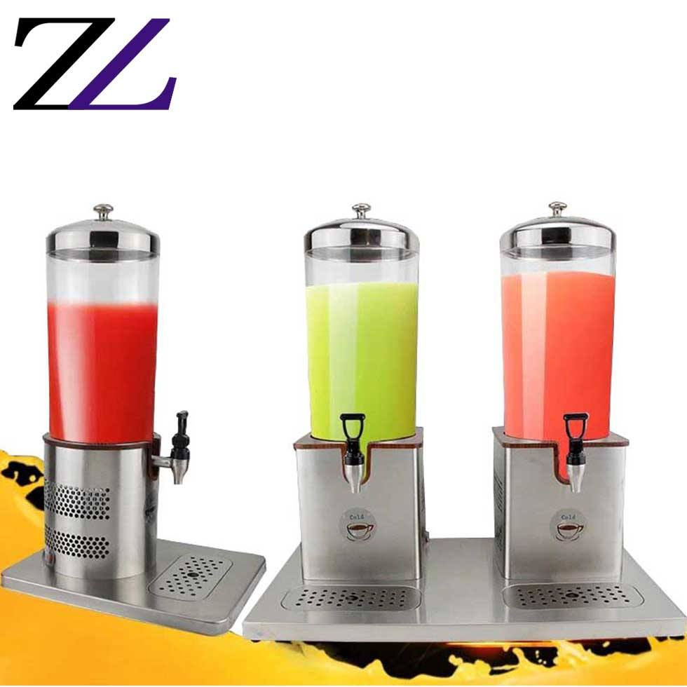 Catering accessories fruit drink machine electric heating 1 tank fresh juicer dispensers soft hot milk cool drink dispenser