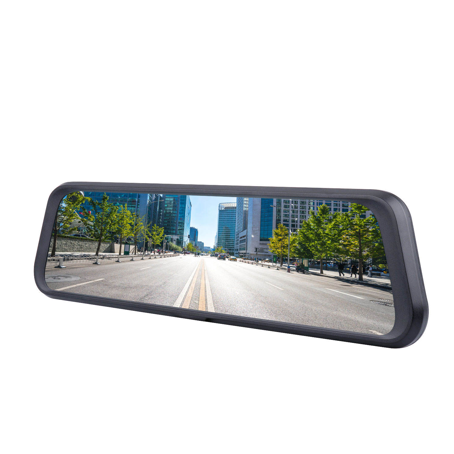 High Quality 10 Inch Touch Screen Dash Cam Dual Lens Super Rear View Car Black Box Rearview Dashboard Camera