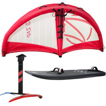 Gold manufacturer handheld inflatablewind windsurfing wing surfer surfing wing for SUP board