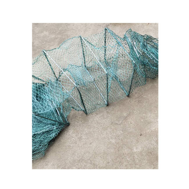 Supply Marine Offshore Aquaculture Crab Fishing Cage Eel Fyke Net for Sale