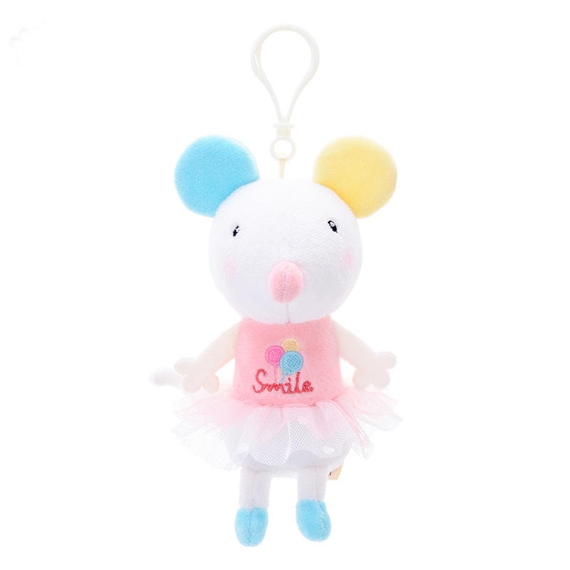 Commercio all'ingrosso <span class=keywords><strong>peluche</strong></span> del <span class=keywords><strong>mouse</strong></span> giocattoli mini keychain Animale metoo bambole