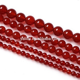 Red Beads Red Production Of Natural Red Agate Stone Beads