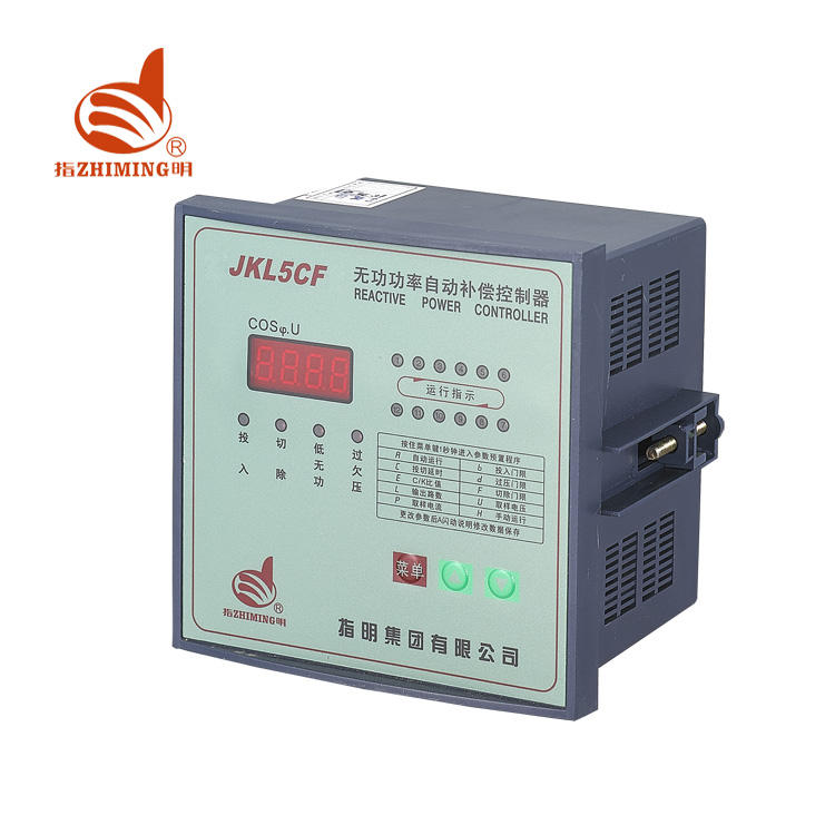 Factory Directly Sales 380V 12 Loops Automatic Power Factor Compensation Controller JKL5C