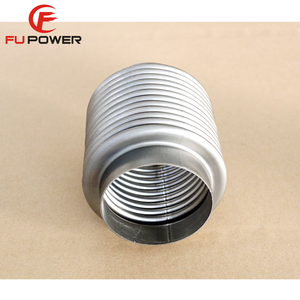 150mm Reinforced exhaust flexible pipe connector 76mm Lenght 100