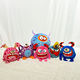 Bouncing Ball Hot Sale Rubber Strong Bouncing Full Printing Playground Animal Shaped Ball