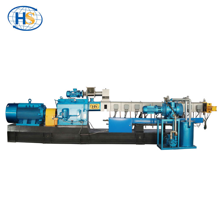 PET Bottle Crushing Pelletizing Line Wasted Plastic Recycling Machine