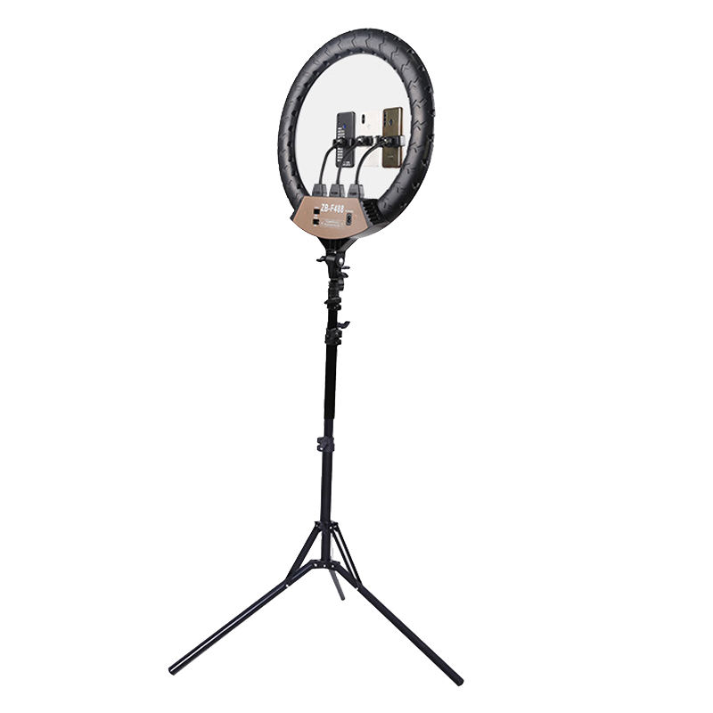 Suppliers Wholesale Selfie Ring Light 22 inch 100W Phone Selfie LED Circle Live Big Ring Light With Tripod Stand