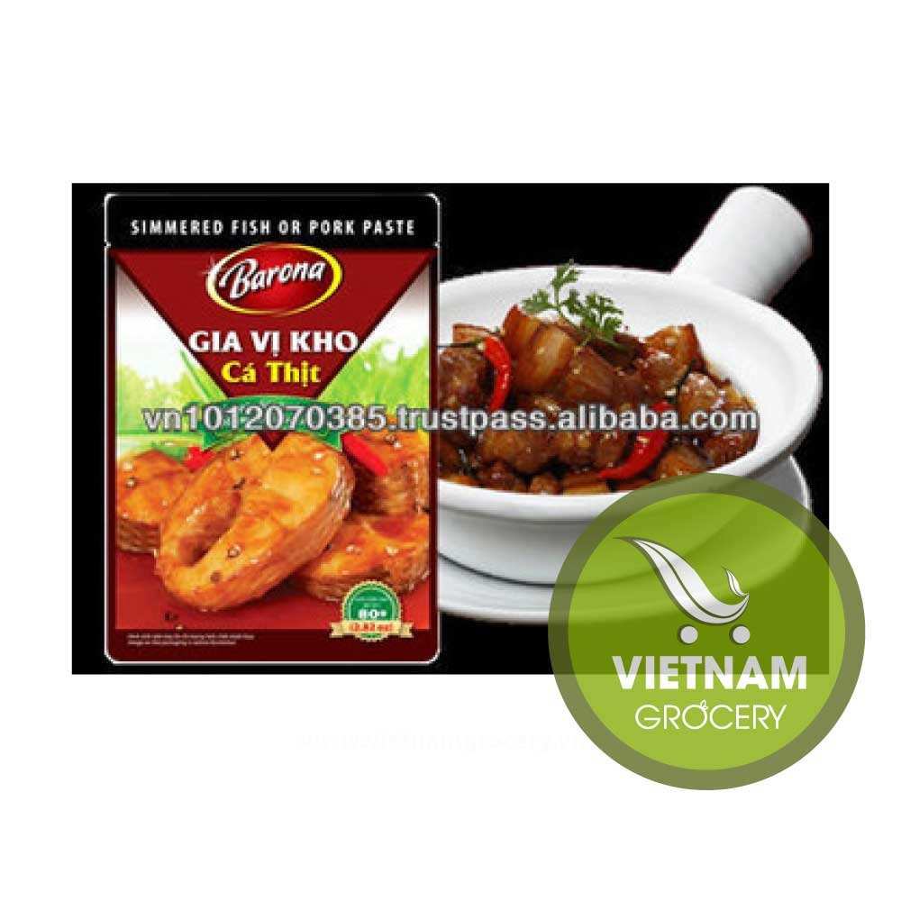 VIET NAM HIGH-QUALITY SIMMERED FISH OR PORK PASTE 80G FMCG products Good Price