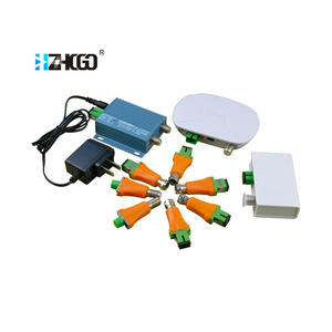 Mini Indoor FTTH CATV Passive Optical Node AGC Penerima Optik