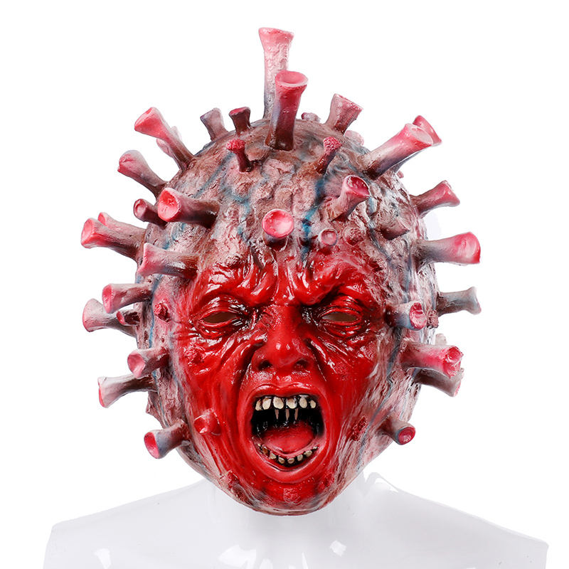 Custom Bloody Mask Halloween Mask Men Women New Latex Mask Headgear Horror Party