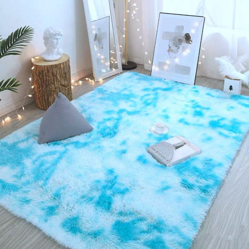 Drop Shipping Seagrass Carpet and Rugs Living Room Printed Mat Shaggy Bedroom Door Mat