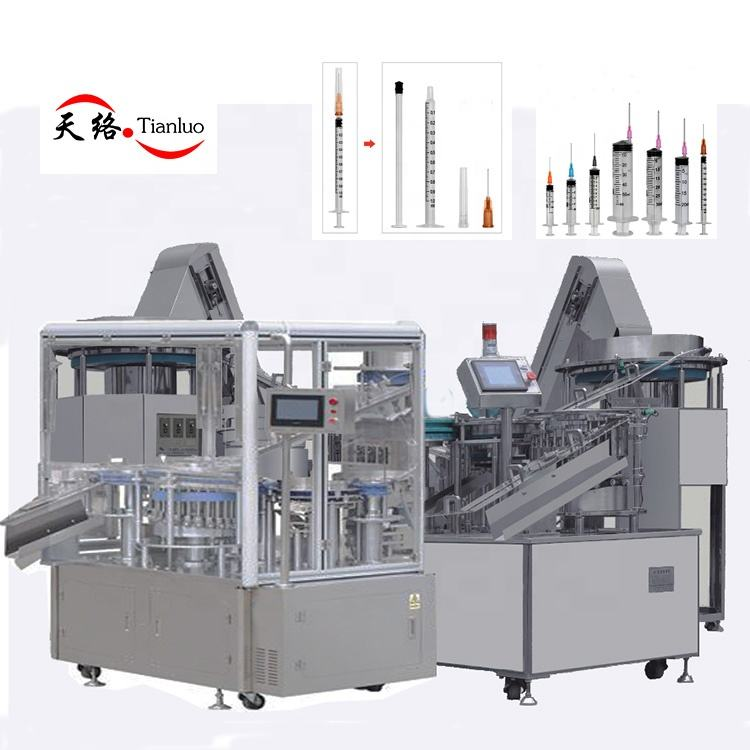Custom high-speed disposable syringe automatic assembly production line