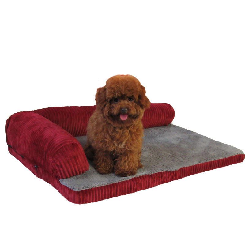 Breathable Bed Sofa Deluxe Sponge Dog Bed Sofa Breathable Durable Dog Pet Sofa Bed Orthopedic Dog Bed