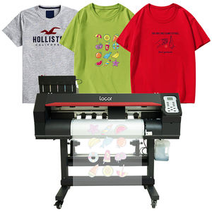 New model LOCOR plastisol heat transfers printer cotton t-shirt nylon chemical fiber heat press sticker machine