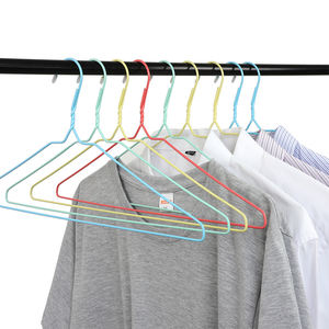 Cheap Colorful Non Slip Space Saving Wire Drying Rack Metal Laundry Clothes Hangers