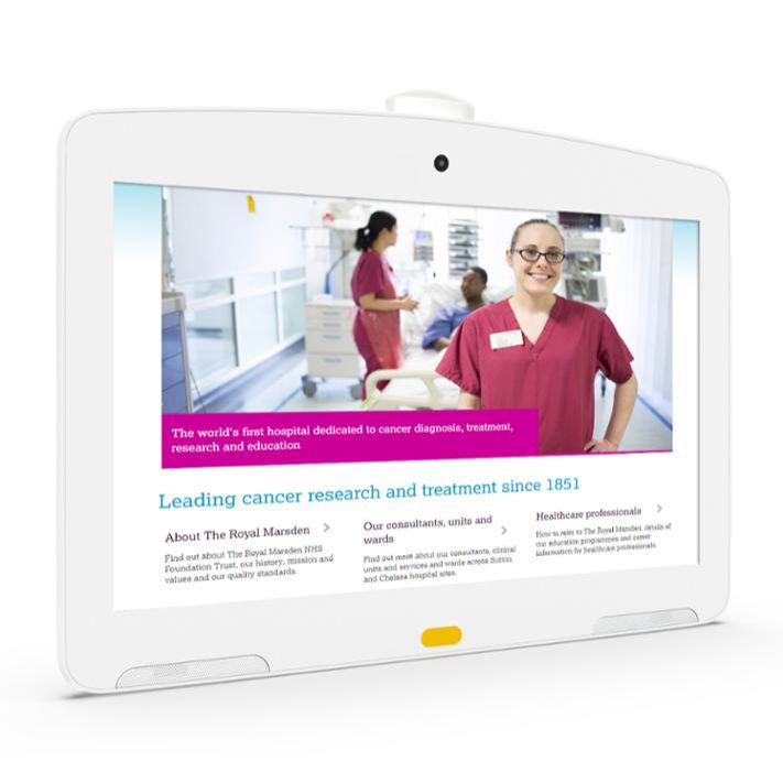 Medical consultation and hospital monitoring Eight-core processor Android8.1 tablet