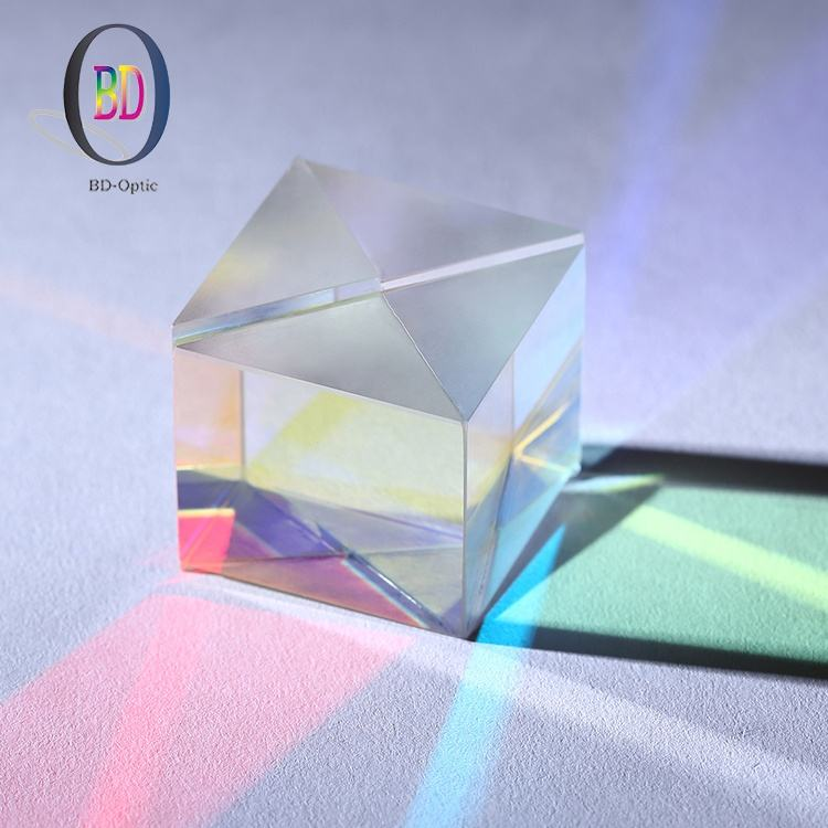 China supplier strictly inspected shape customizable optical right angle glass prism