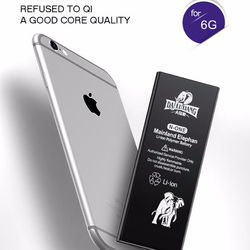 Elephants battery high capacity for iphone 6 battery,  More 500mah capacity iphone6 battery, more capacity battery