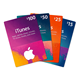 itunes gift card email delivery 50 US dollars