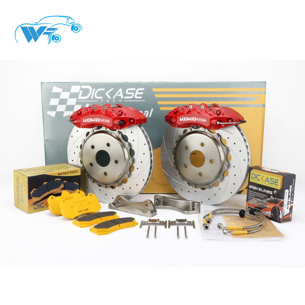 high precision car brake system wt9040 drilled rotors for VOLVO