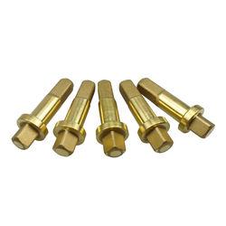 China-made Gas cylinder connector Threaded brass Valve Rod Plugin bolt Plunger