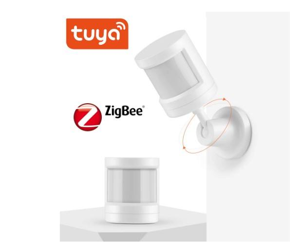 Tuya Smart Life Sensor Zigbee Alarm PIR Human Motion Sensor Detector Wireless Control Work With Gateway Google Home Alexa Echo