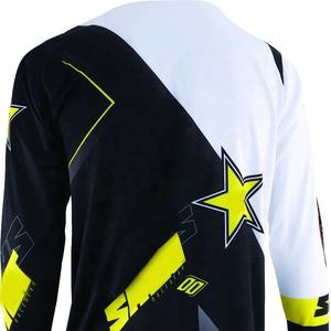 Motocross jersey customized sublimation jersey for MTB MX and cycling with 100% polyester mesh fabric jersey supplier Pakistan