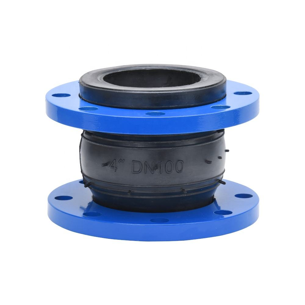 DN 1100 Single Sphere Rubber Coupling Pipe Joint with Flange