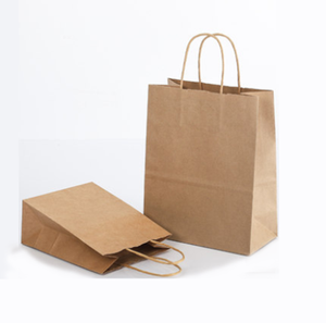 manufacture kraft paper bag cheap price takeaway paper bag